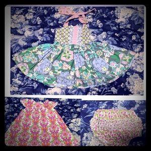 Matilda Jane/Vera Wang Dresses Floral Lot 9-12 mon